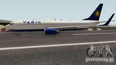 Boeing 737-800 Varig для GTA San Andreas