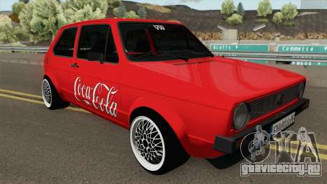 Volkswagen Golf C - Coca Cola Edition 1983 для GTA San Andreas
