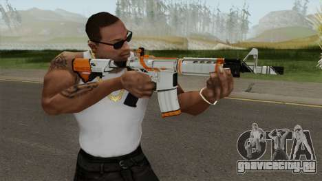 CS-GO M4A4 Asiimov для GTA San Andreas