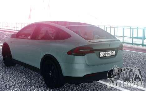 Tesla Model X для GTA San Andreas