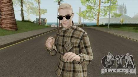 Justin Bieber Casual Outfit для GTA San Andreas