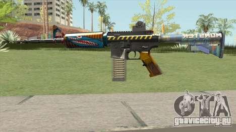 M4 (Monster Skin) для GTA San Andreas