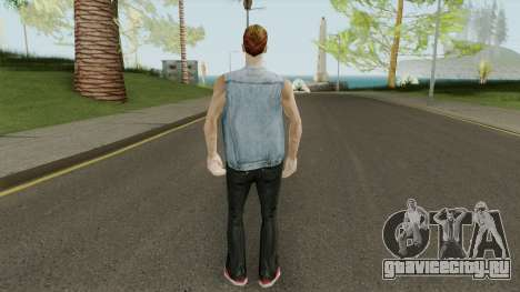 Paul HD With GTA Online Outfit для GTA San Andreas