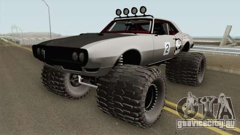 Pontiac Firebird Off Road No Fear 1968 для GTA San Andreas