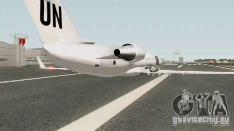 Bombardier CRJ-200 United Nations для GTA San Andreas
