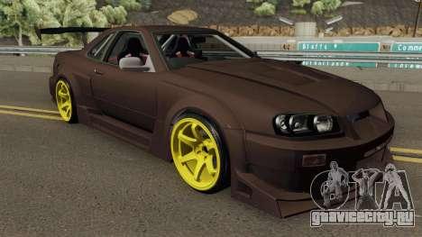 Nissan R34 Uras GT для GTA San Andreas
