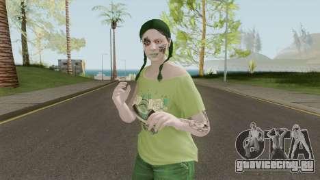 Chica Grove для GTA San Andreas