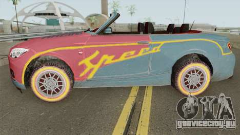 ROS Rosy Comet Car для GTA San Andreas