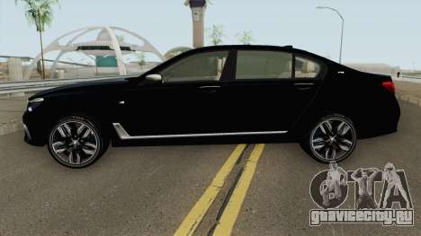 BMW M760LI G12 2018 German V1 для GTA San Andreas
