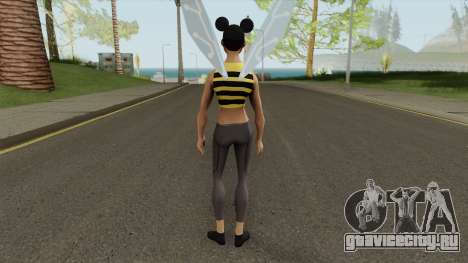 Bumblebee From Young Justice V2 для GTA San Andreas
