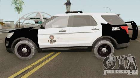 Ford Explorer Police Interceptor LAPD 2017 для GTA San Andreas