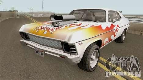 Declasse Vamos GTA V (Custom Bonnet) для GTA San Andreas