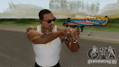 Desert Eagle (Monster Skin) для GTA San Andreas