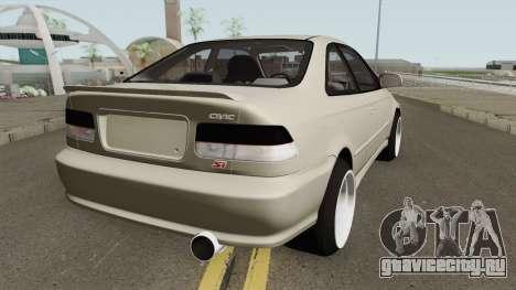 Honda Civic 99 Swap K20Z3 для GTA San Andreas