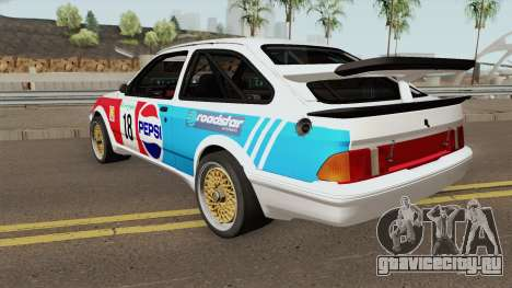Ford Sierra RS Cosworth Pepsi Edition 1986 для GTA San Andreas