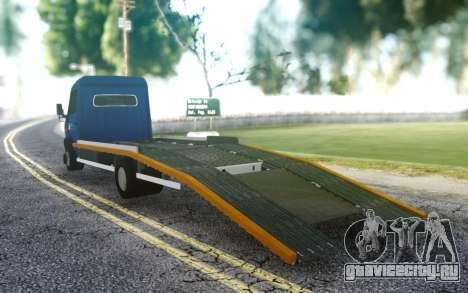 Mercedes-Benz Vario 815D для GTA San Andreas
