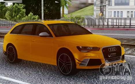 Audi RS6 Welow для GTA San Andreas