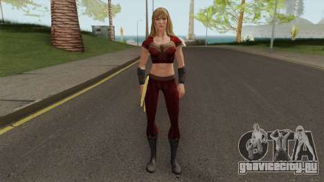Wondergirl Heroic From DC Legends для GTA San Andreas