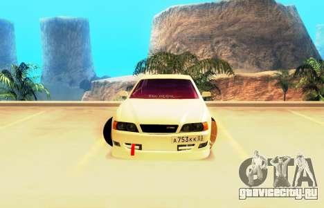 Toyota Chaser JZX100 Tourer V для GTA San Andreas