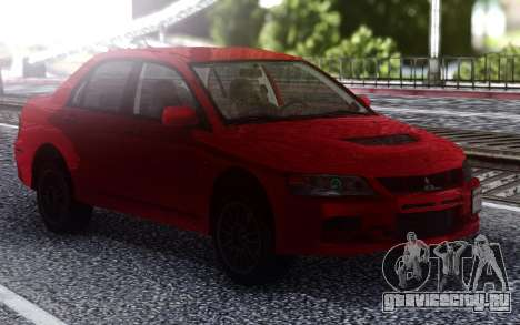 2006 Mitsubishi Lancer Evolution IX MR для GTA San Andreas