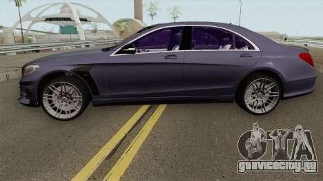 Mercedes-Benz B850 W222 для GTA San Andreas