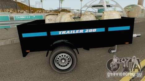 Utility Trailer GTA V для GTA San Andreas