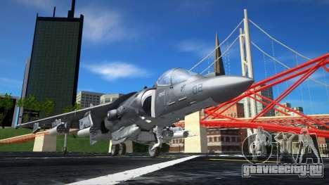 Boeing AV-8B Harrier II Plus для GTA San Andreas
