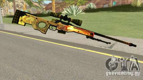 CSGO AWP Dragon Lore для GTA San Andreas
