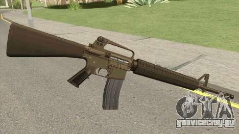 M16A2 Full Desert Camo (Ext Mag) для GTA San Andreas