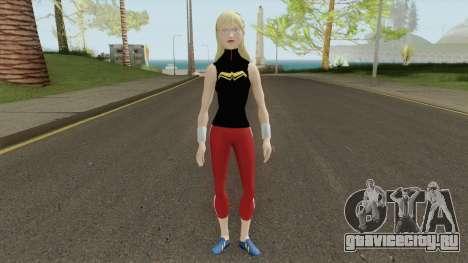Wonder Girl Skin V1 для GTA San Andreas