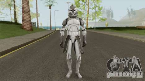 Star Wars Commander Wolffe для GTA San Andreas