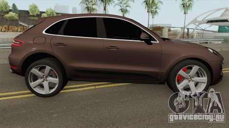 Porsche Macan Turbo 2016 для GTA San Andreas
