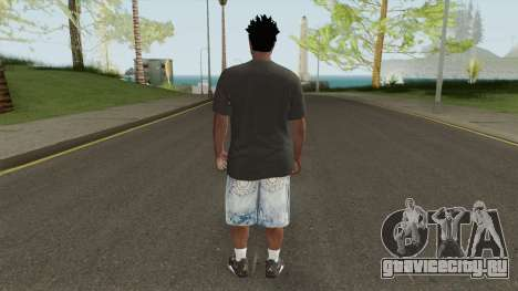 Skin Random 145 With Black Shirt для GTA San Andreas