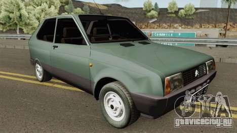 Citroen Axel 1986 для GTA San Andreas