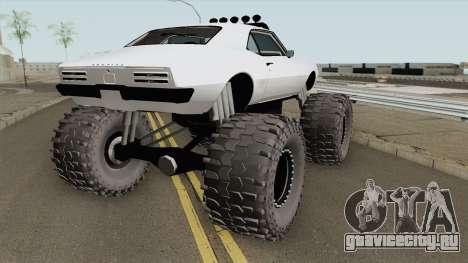 Pontiac Firebird Monster Truck 1968 для GTA San Andreas