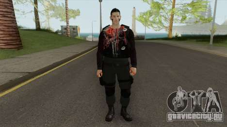 The Punisher V2 (Blood Retextured) для GTA San Andreas