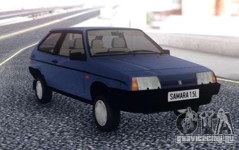 ВАЗ 2108 Экспорт Великобритания для GTA San Andreas