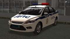 Ford Focus ОБ ГИБДД Winter Edition для GTA San Andreas