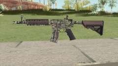 CS-GO M4A4 Jungle Tiger для GTA San Andreas