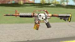 CS:GO M4A1 (Demolition V1 Skin) для GTA San Andreas