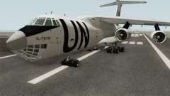 Ilyushin Il-76TD United Nations для GTA San Andreas