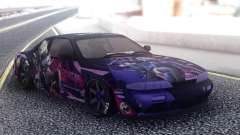 Nissan Silvia S14 SuicidePaintjob для GTA San Andreas