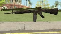 M16A2 Full Jungle Camo (Ext Mag) для GTA San Andreas