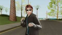 Random Skin 1 (With Glasses) для GTA San Andreas