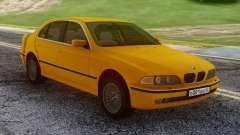 BMW E39 530d Yellow для GTA San Andreas