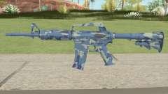 CS:GO M4A1 (Ocean Bravo Skin) для GTA San Andreas