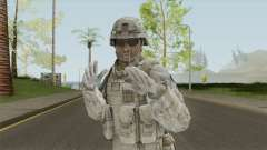 Marine Skin V1 From Spec Ops: The Line для GTA San Andreas