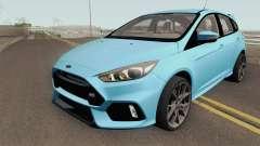 Ford Focus RS 2017 HQ для GTA San Andreas