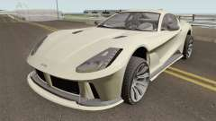 Grotti Itali GTO GTA V High Quality для GTA San Andreas