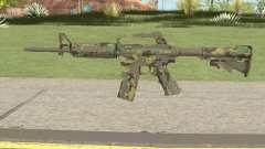 CS:GO M4A1 (Forest Boreal Skin) для GTA San Andreas